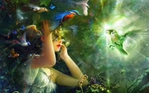 fantasy-girl-and-bird